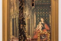 Madonna in Gold 14 ½ X l7 ½